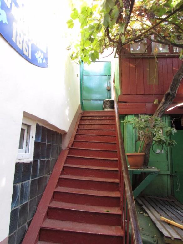Die Stufen ins Banja Paradies.