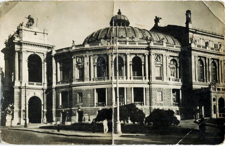 Das Opernhaus in Odessa